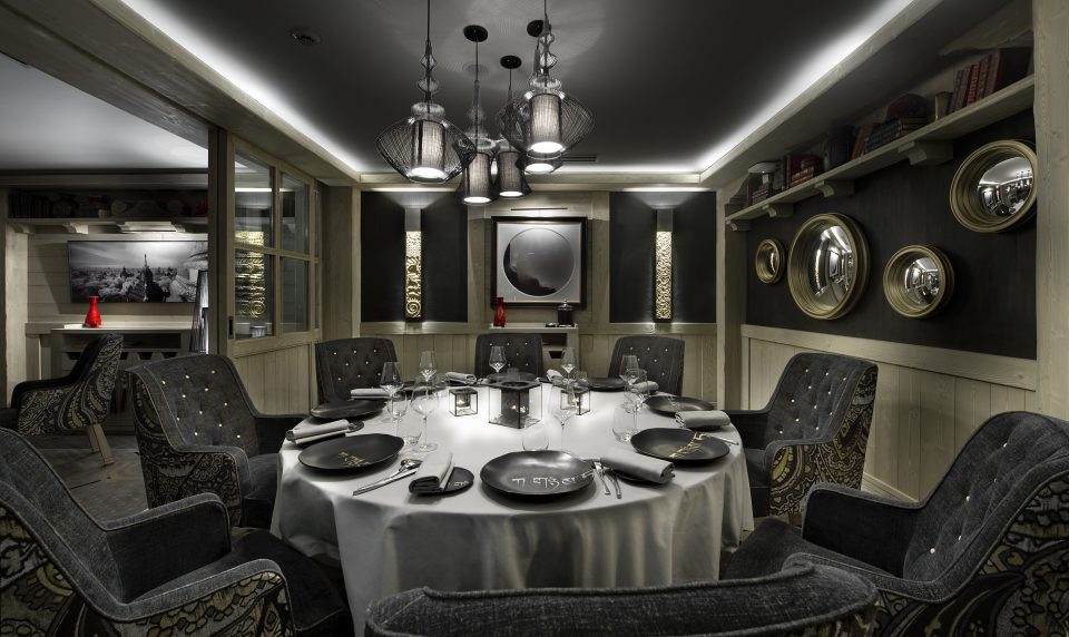 Le Black Pyramid, Restaurant K2 Palace