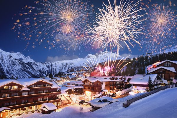 Courchevel by night, Courchevel Tourisme